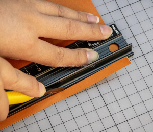 Leather Scale Ruler