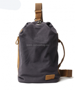 canvas sling pack