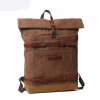 mens waxed canvas backpack