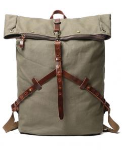 rucksack vintage canvas backpack